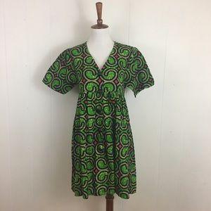 True Vintage Short Sleeve Babydoll Mini Dress